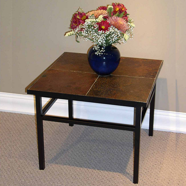 4D Concepts Slate End Table