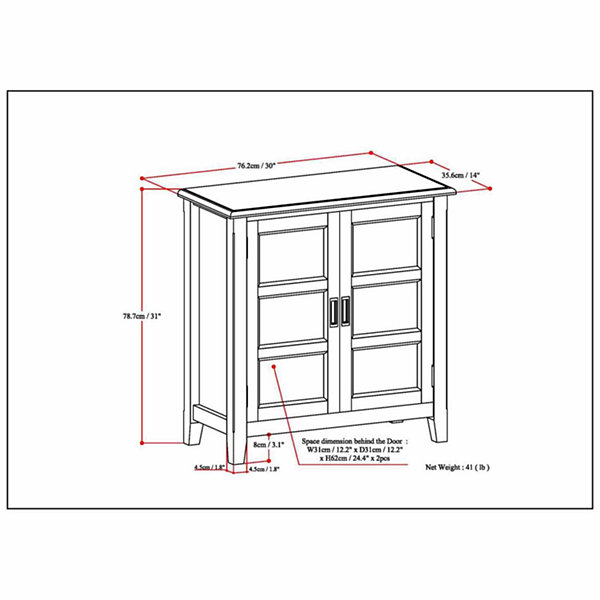 Burlington Low Storage Cabinet
