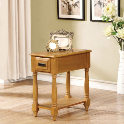 Qrabard Chairside Table
