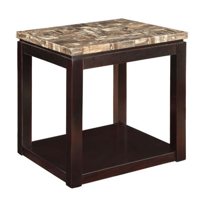 Dusty End Table