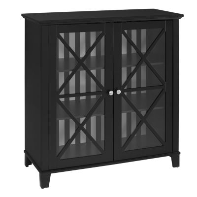 Rapture Awning Stripe Large Accent Cabinet