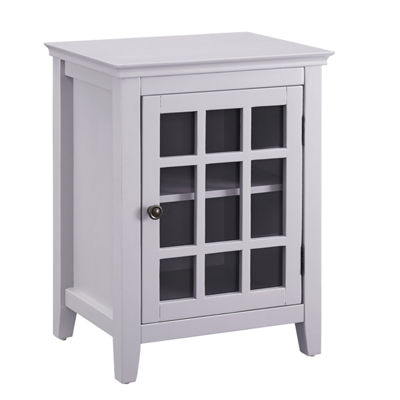 Leslie Single Door Accent Cabinet