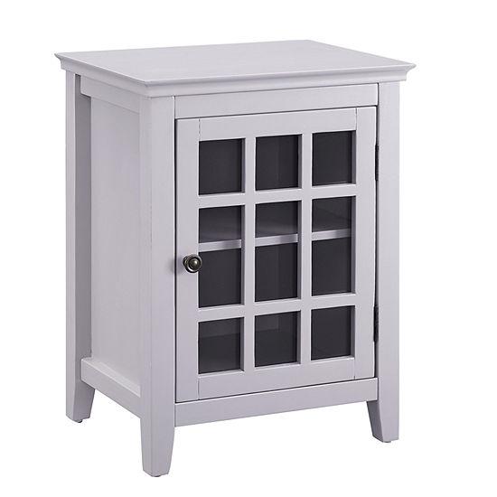 Leslie Single Door Accent Cabinet