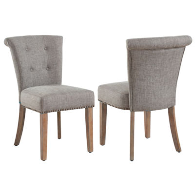 Selma Button Tufted Side Chair- Set of 2