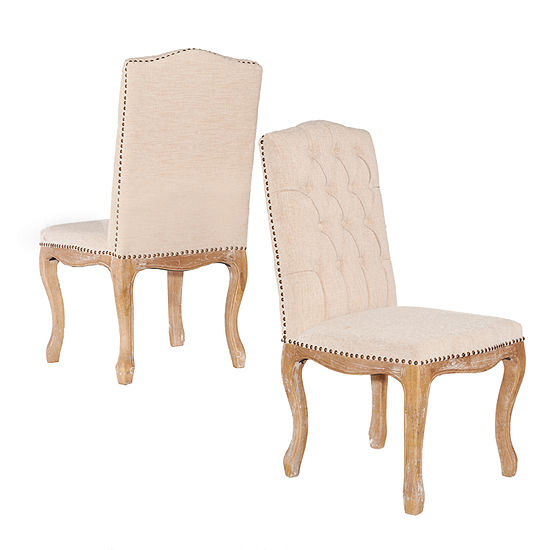 Portsmouth Square Back Set of 2 Dining Chairs