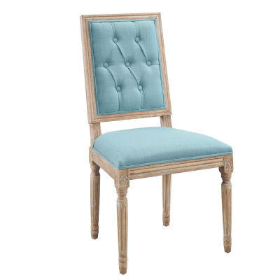 Avalon Tufted Square Back Set of 2 Dining Chairs