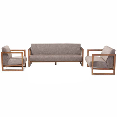 Baxton Studio Valencia 3-pc. Seating Set