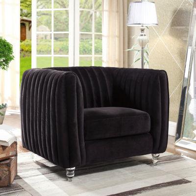 Kent Velvet Club Chair