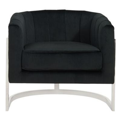 Tarra Velvet Accent Chair