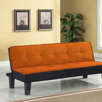 Hamar Adjustable Flannel Fabric Sofa