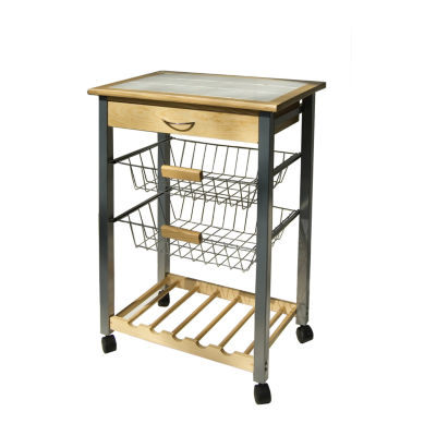 Neu Home Kitchen Cart with Baskets