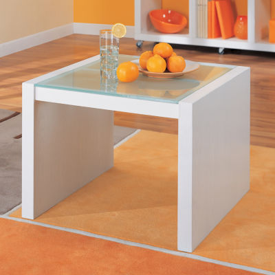 Neu Home Coffee Table With Glass Top
