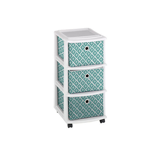 Home Products International Drawer Storage Cart