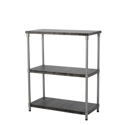 Home Zone® 3-Tier Adjustable MDF Shelving System