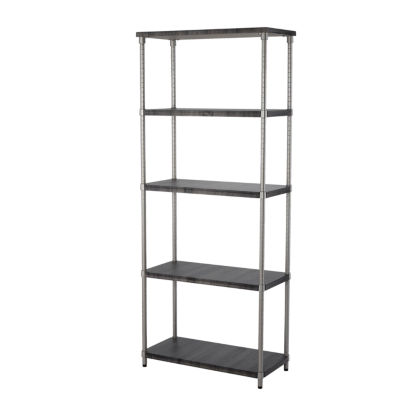 Home Zone® 5-Tier Adjustable Shelving System