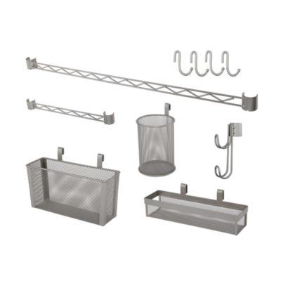 Home Zone® 7-Piece Shelf Accessory Kit