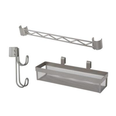 Home Zone® 3-Piece Shelf Accessory Kit