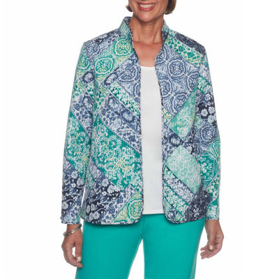 Alfred Dunner Montego Bay Quilted Jacket