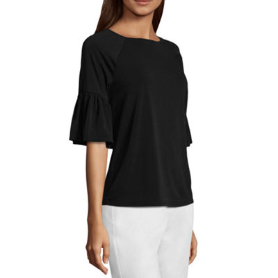 Worthington Bell Sleeve Knit Top
