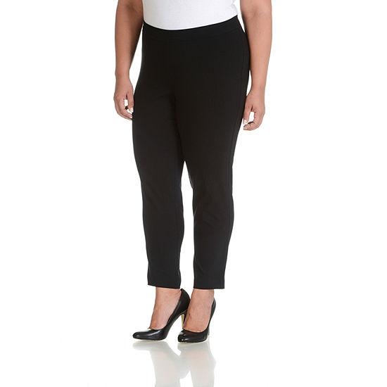 Larry Levine Side Pocket Millennium Pants - Plus