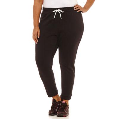 City Streets Knit Jogger Pants - Plus