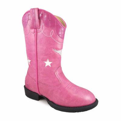 Smoky Mountain Girl's Austin Lights Lightup Cowboy Boot Toddler