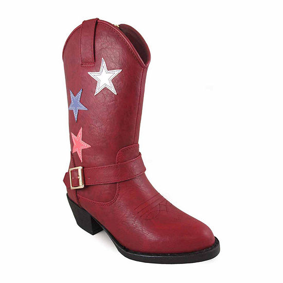 Smoky Mountain Girls Cowboy Boots Zip