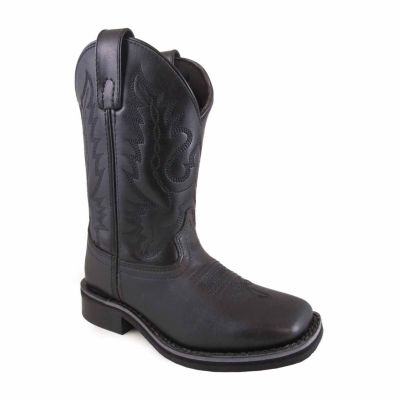 Smoky Mountain Boy's Outlaw Leather Cowboy Boot