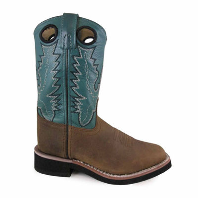 Smoky Mountain Kid's Pueblo Oil Distress Cowboy Boot