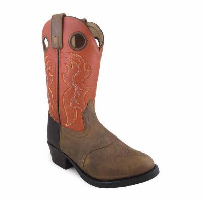 Smoky Mountain Kid's Thomas Distress Leather Cowboy Boot