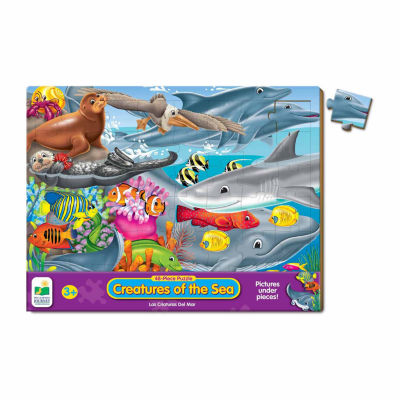 The Learning Journey 48 Piece Lift & Discover Jigsaw Puzzle - Creatures of the Sea