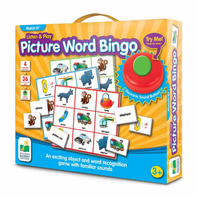 The Learning Journey Match It! - Listen & Play Bingo - Picture Word Bingo