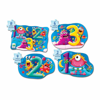 The Learning Journey My First Puzzle Sets  4-In-A-Box Puzzles - 123