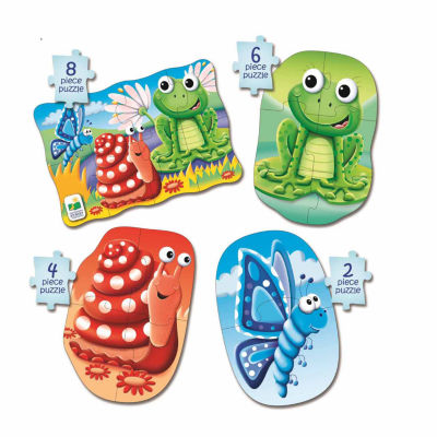 The Learning Journey My First Puzzle Sets  4-In-A-Box Puzzles - Colors