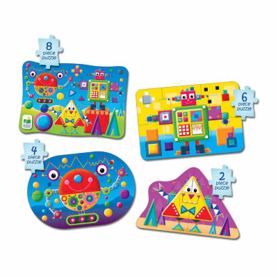 The Learning Journey My First Puzzle Sets  4-In-A-Box Puzzles - Shapes