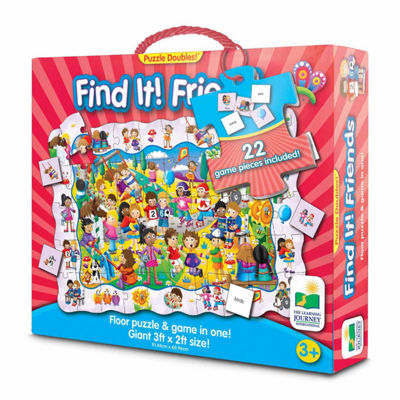 The Learning Journey Puzzle Doubles - Find It! Friends
