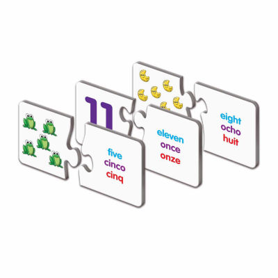 The Learning Journey Trilingual Match It! - Numbers