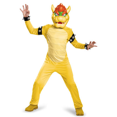 Super Mario Bros: Bowser Deluxe Child Costume