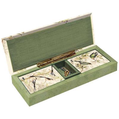 Lang Tropical Birds Cribbage Board