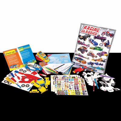 T.S. Shure - Automotive and Car Designer Creativity Set and Book