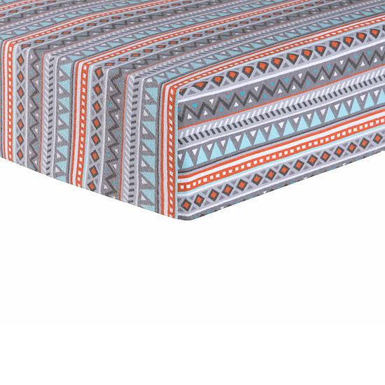 Trend Lab Moose Canoe Southwest Crib Sheet