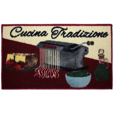 Structures Cucina Tradizione Textured Loop Oblong Kitchen Mat