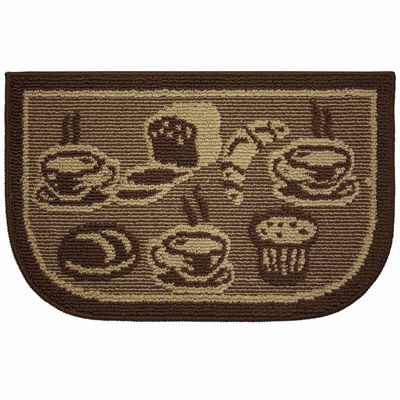 Structures French Bread Textured Loop Wedge Kitchen Mat