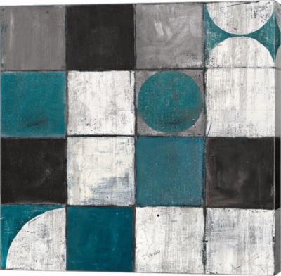 Metaverse Art Tango Detal II BW Canvas Artwork