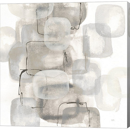 Metaverse Art Neutral Stacking I White