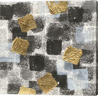 Metaverse Art Gold Squares I
