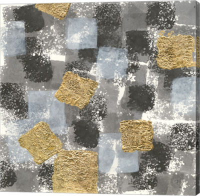 Metaverse Art Gold Squares II