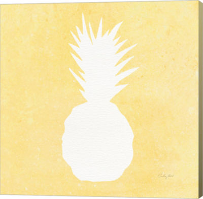 Metaverse Art Tropical Fun Pineapple Silhouette II
