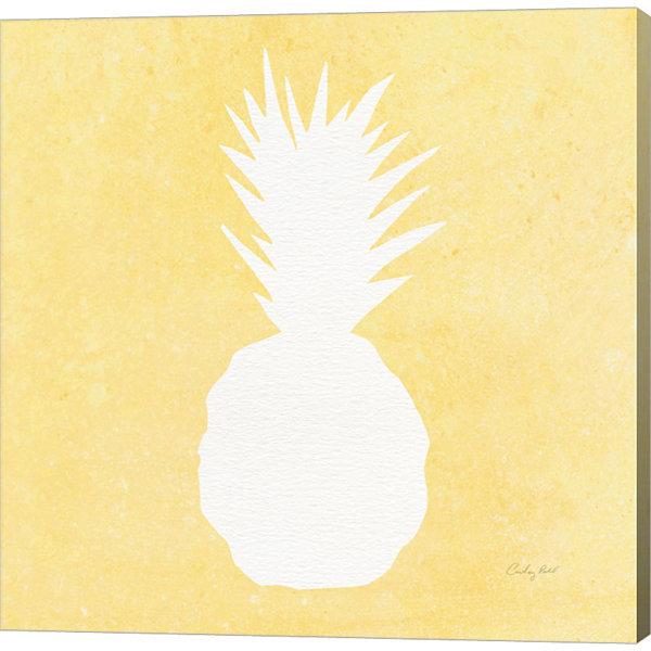 Metaverse Art Tropical Fun Pineapple Silhouette II - JCPenney