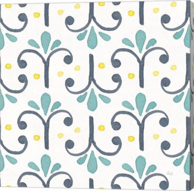 Metaverse Art Garden Getaway Pattern XIV